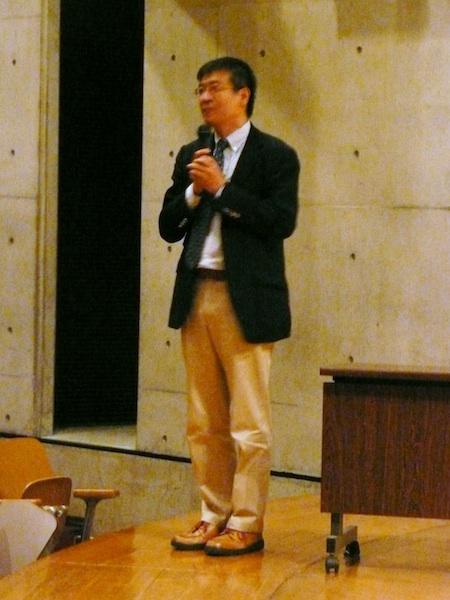 (1)シンポジウム音好宏教授2013年10月13日