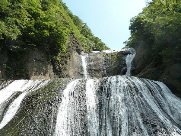 第一観瀑台からの眺め