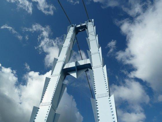 竜神大吊橋主塔