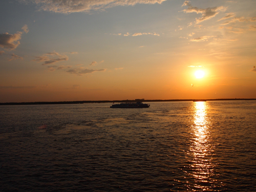 ロシアの夕日