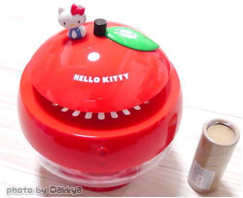 MUSE&Co.(ミューズコー)で買ったHelloKitty空気洗浄機 りんご