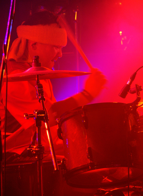 Explosion Party ドラム生駒さん