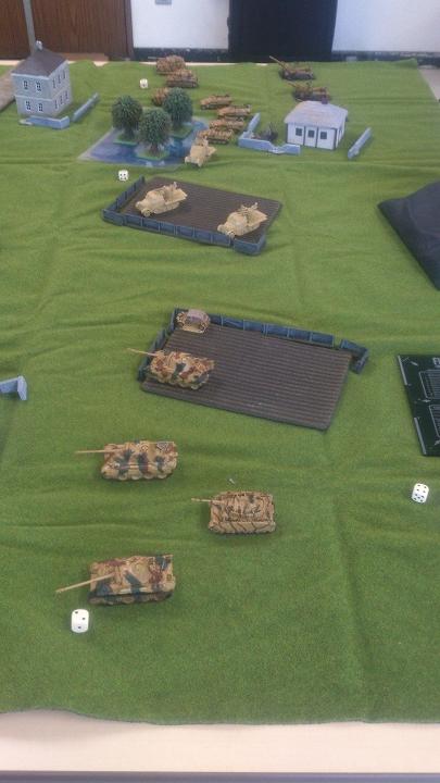 ドイツ軍初期配置