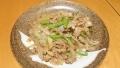 玉ねぎと豚肉の炒め物 20160616