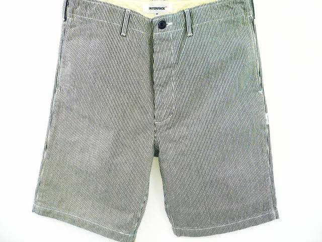INTERFACE DENIM SHORTS