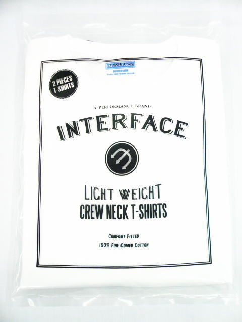 INTERFACE 2 PIECES CREW NECK TEE