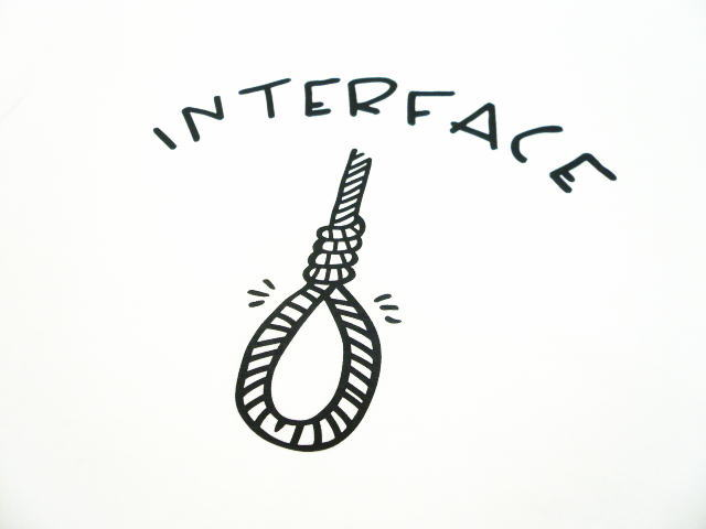 INTERFACE HANGING TEE
