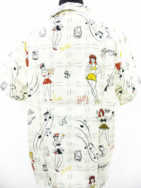 GANGSTERVILLE Betty SHIRTS-SS