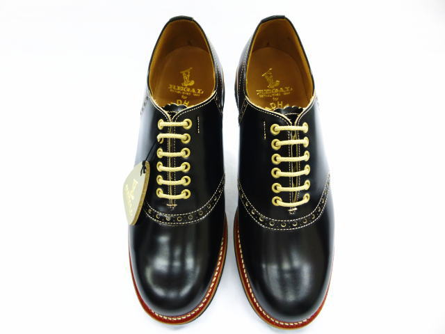GLAD HAND×REGAL SADDLE SHOES 2 BLK