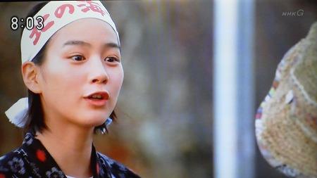 4月11日放送NHKあまちゃん「海女漁が行われているのは、世界中で、日本と韓国だけなんです!」