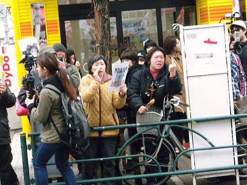 日本人差別をなくせデモin新大久保20130421レイシストしばき隊