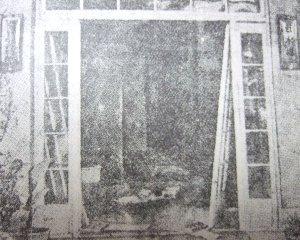 被害甚大の近水楼