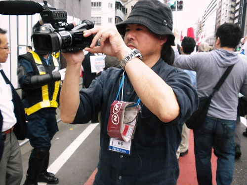 NHK通名制度の悪用をなくせ!デモin新大久保20130519