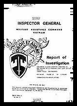 ロバート・モレヘッド・コックアメリカ陸軍大佐が監察官として作成した虐殺事件の報告書