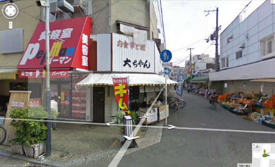 交差点がキムチ 路上で刃物で男女2人が刺された大阪市生野区の事件現場