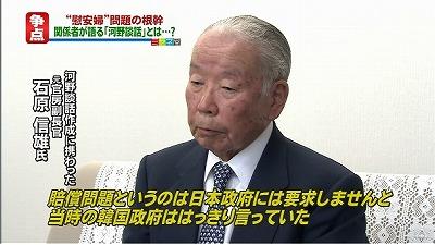 賠償問題というのは日本政府に要求しませんと、当時の韓国政府ははっきり言っていた