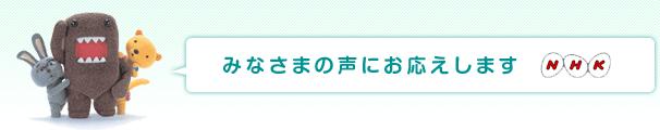みなさまの声NHK