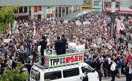 辛坊治郎「TPPに大声上げて反対しているのは補助金目当てで性質が悪い」