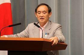 菅義偉官房長官「韓国側から必要との要請があれば延長。日本側からは必要ない」