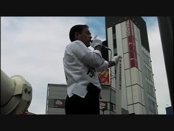 【維新政党・新風】H25.7.14 鈴木信行 新大久保街頭演説