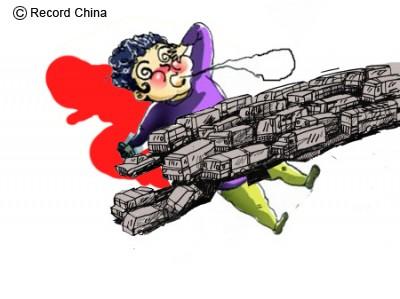 【中国】34台にひかれて男性が死亡、事故車両はすべて通報することなく逃走-広東省江門市