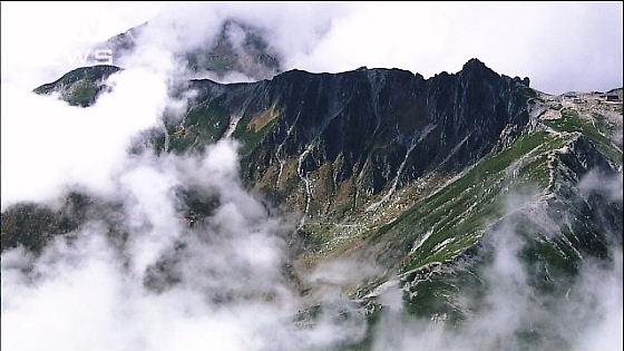 中央アルプス檜尾岳(2728メートル)