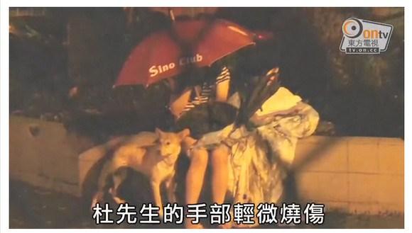 中国でサムスンのスマホ『GALAXY S4』が火を噴いて爆発炎上 → 家が全焼する事故発生\2013-07-28_220527▼杜さんの妻と愛犬、大きなケガがなかったのは不幸中の幸いだが……原因究明が待たれる