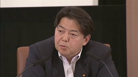 林農林水産大臣は日本記者クラブで行われた講演での質疑で、……今後、外務省を通じて韓国政府に対応を見直すよう申し入れを行う考えを示しました。