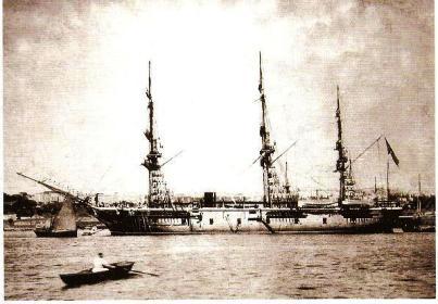 トルコ軍艦エルトゥールル号、明治23年9月16日に日本で遭難