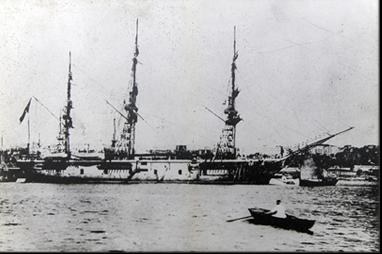写真はオスマン帝国海軍「エルトゥールル」