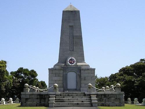 エルトゥールル号殉難将士慰霊碑(和歌山県串本町)