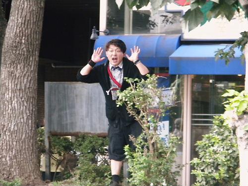 崔檀悦(チェ・ダンヨル)という在日朝鮮人の犯罪者 我々の抗議活動に対して、一人の変な朝鮮人が長時間に亘って火病を発症させていた。