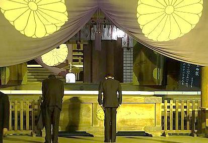 クリスチャンの麻生氏ら3閣僚、靖国参拝