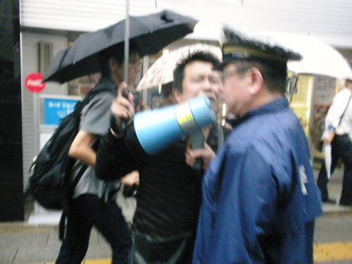 韓国人による靖国神社放火未遂事件徹底糾弾デモin秋葉原20131005久保憲司