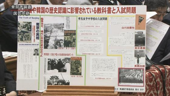 南京大虐殺は嘘っぱちのでっち上げ\20130410国会(西川京子)