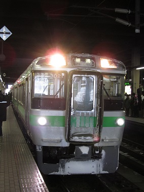 普通列車 「小樽行き」