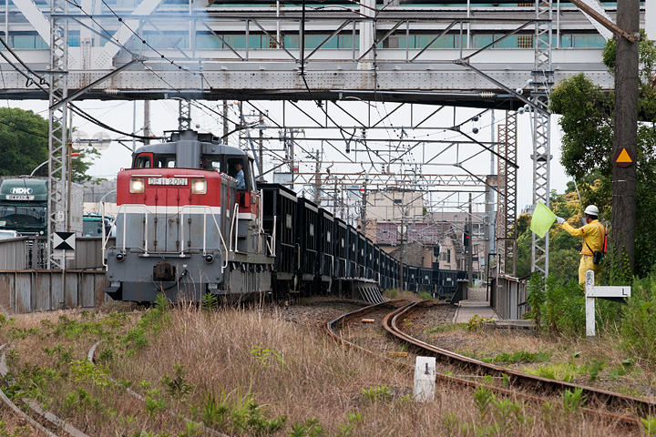鶴見線4_石炭輸送列車