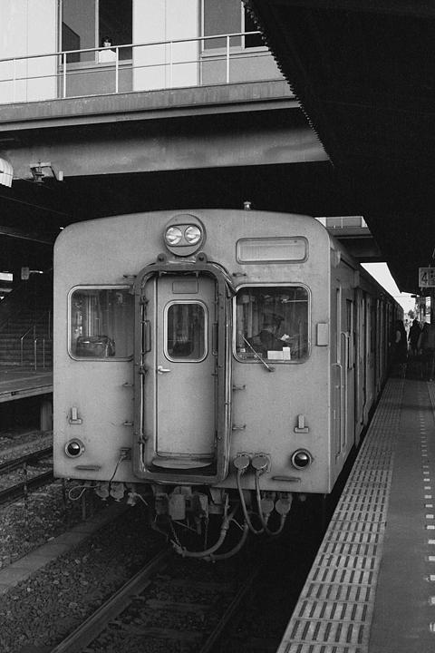 国鉄相模線_橋本駅_キハ35