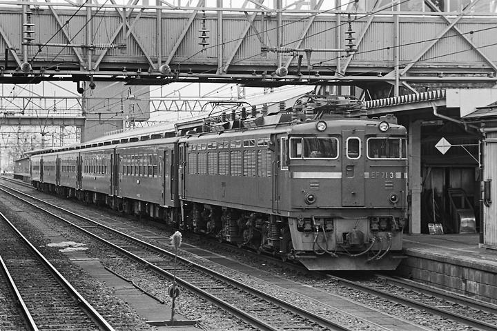 600319奥羽本線50系客車_米沢駅