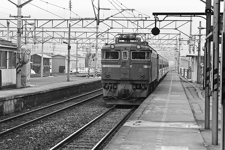600319奥羽本線50系客車_赤湯駅