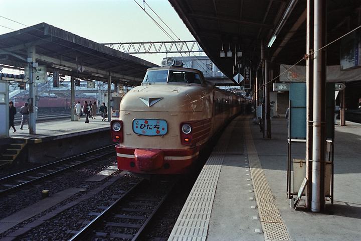 600320東北本線_仙台駅_485系特急ひたち号