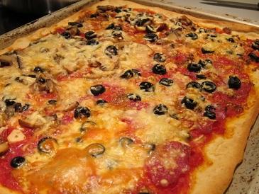 独逸人によるピザ