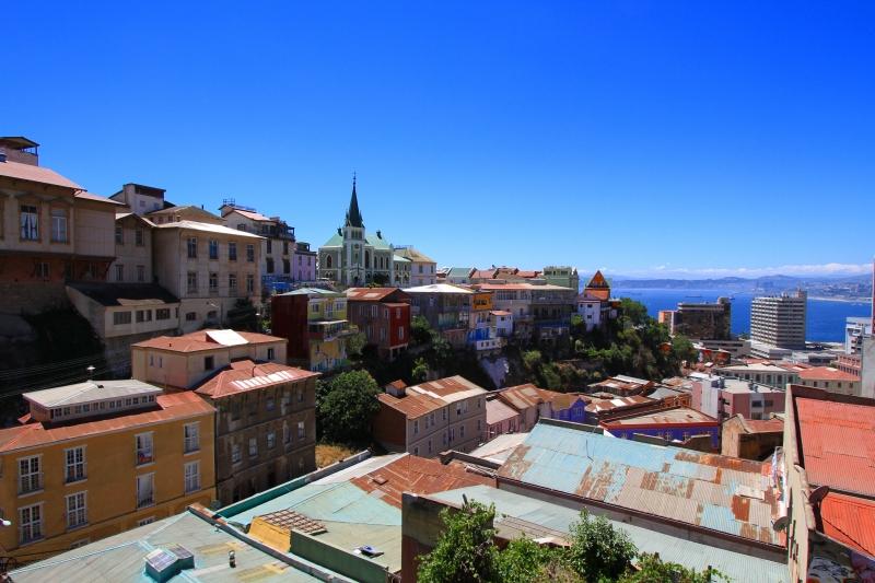 バルパライソ美しい街2