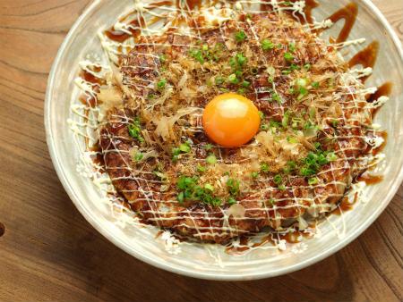 納豆お好み焼き14