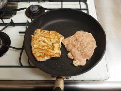 鶏むねステーキ玉ねぎソースy05