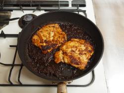 鶏むねステーキ玉ねぎソースy08