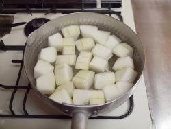 鶏と冬瓜の煮物作り方y07