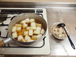 鶏と冬瓜の煮物作り方y18