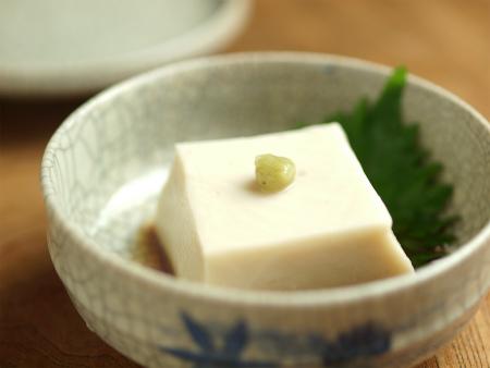 走波焼胡麻豆腐y62
