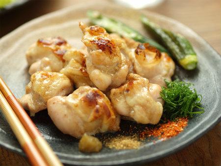 鶏肩肉の塩焼きy09
